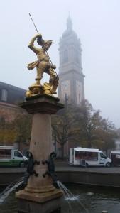 St. Georg und seine Kirche
