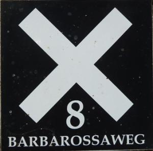 Wanderwegmarkierung: Barbarossaweg