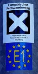 Europäischer Fernwanderweg E1 Schweden-Umbrien