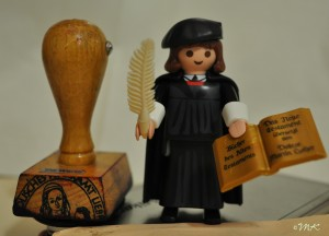 Luther-Playmobil ;)