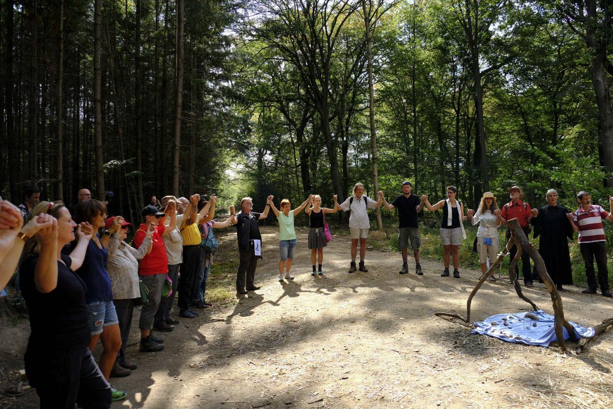 """Appell der Klimapilger*innen zum """"Hambacher Wald"""" vom 14.9.2018"""