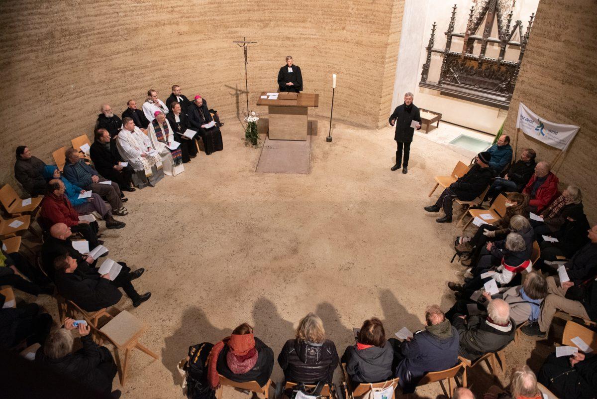 Auf nach Polen: Übergabe des Staffelstabs in feierlichem Gottesdienst