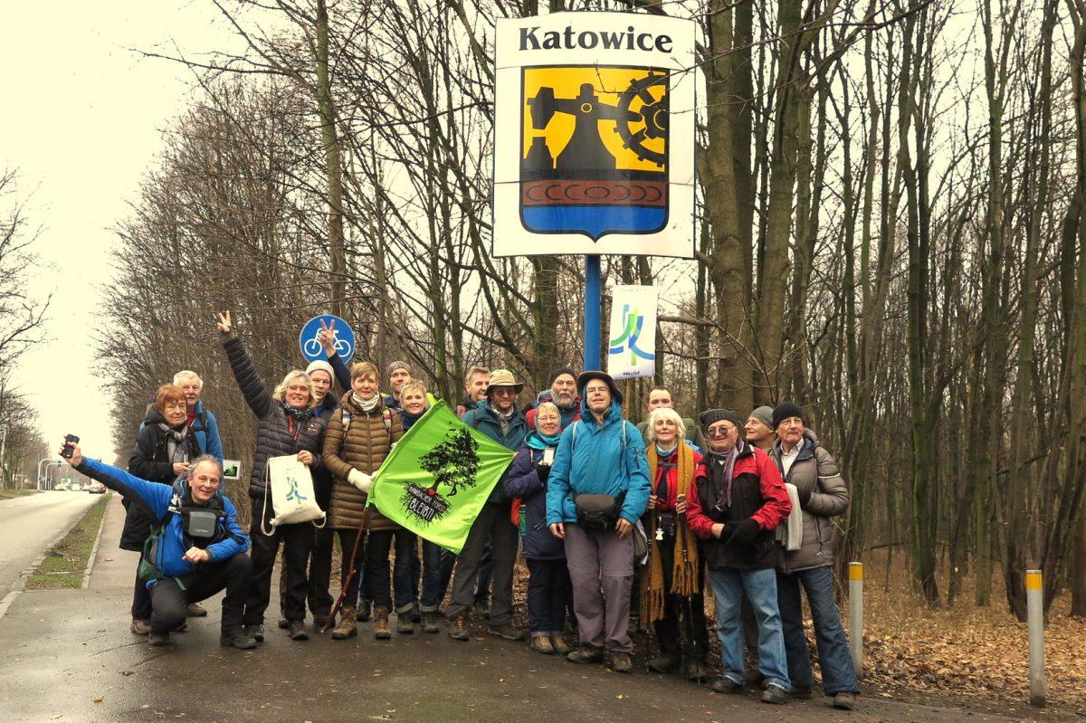 Geschafft: Ankunft in Katowice und Treffen mit Klimapilgern aus Rom