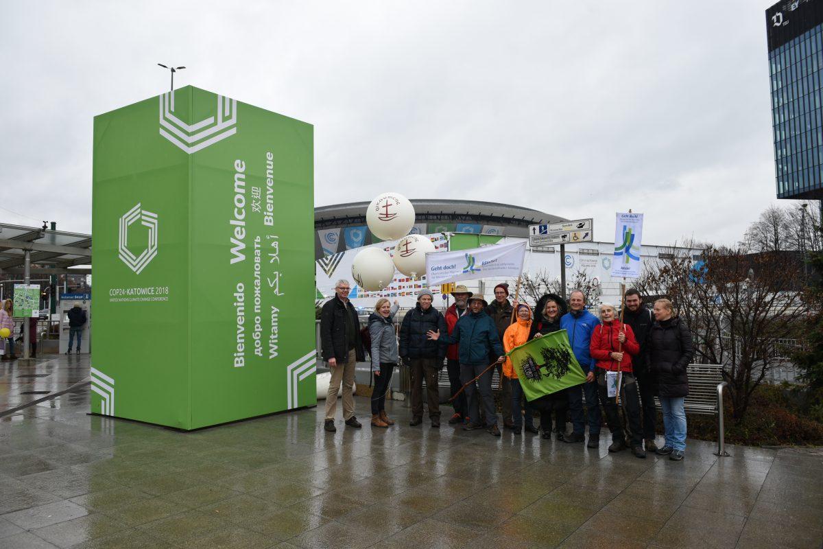 Enkelgerechte Welt: Klimapilger fordern Weltklimakonferenz zur Bewahrung der Schöpfung auf
