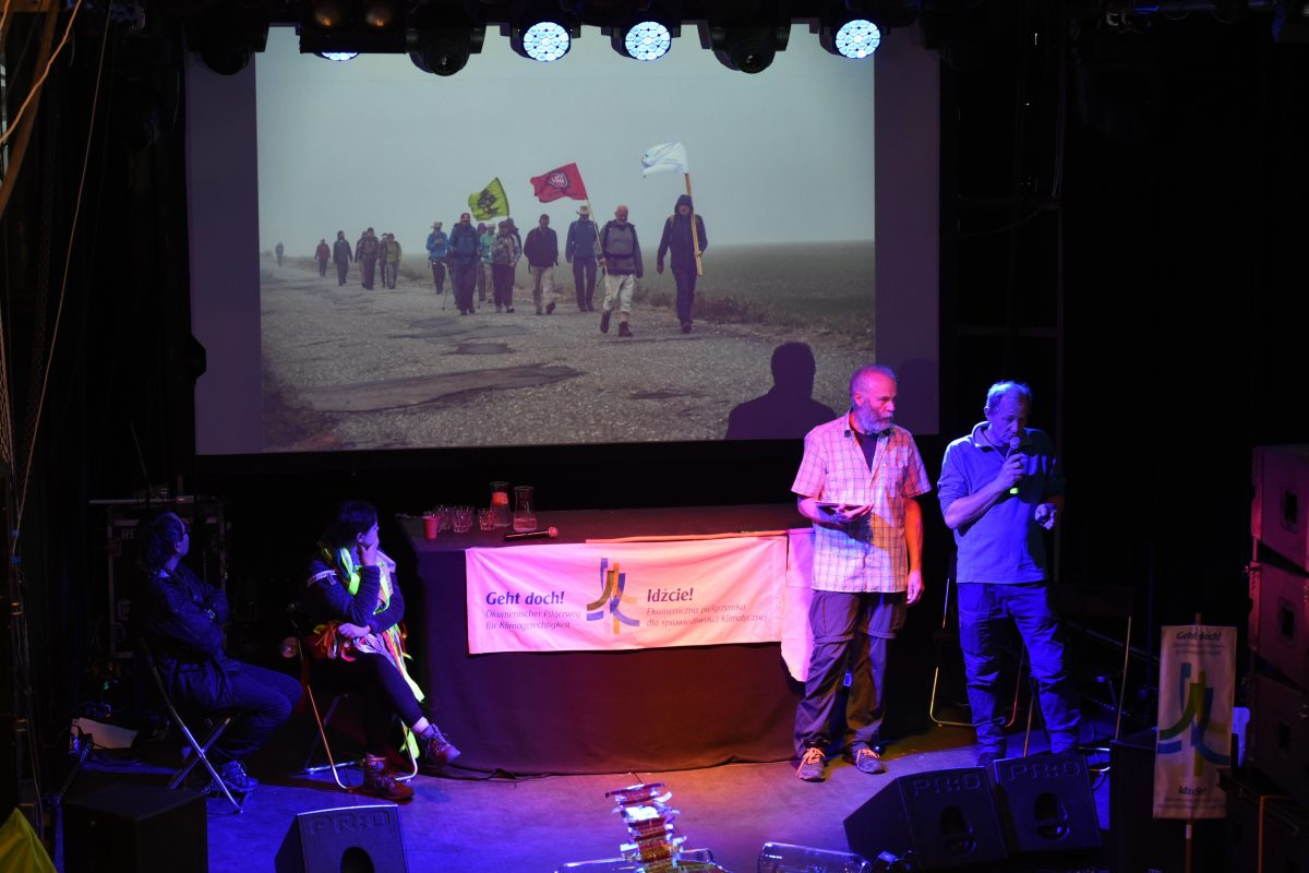 Präsentation der Klimapilger in Katowice